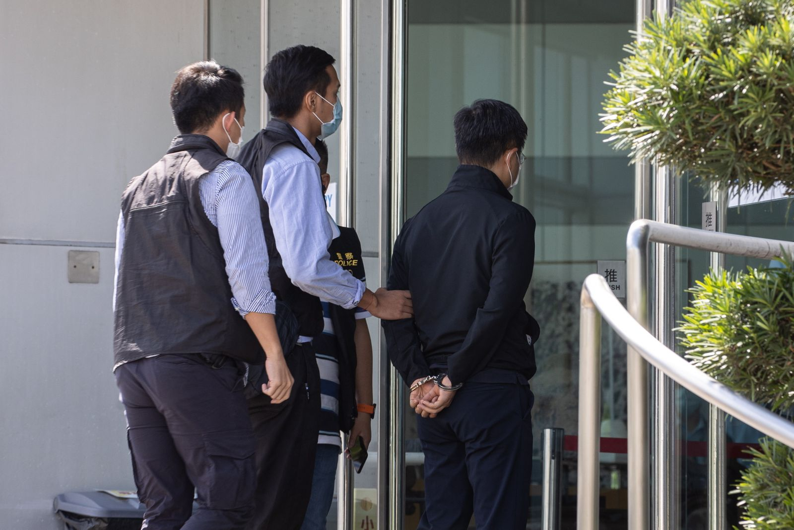 Arrests at Apple Daily