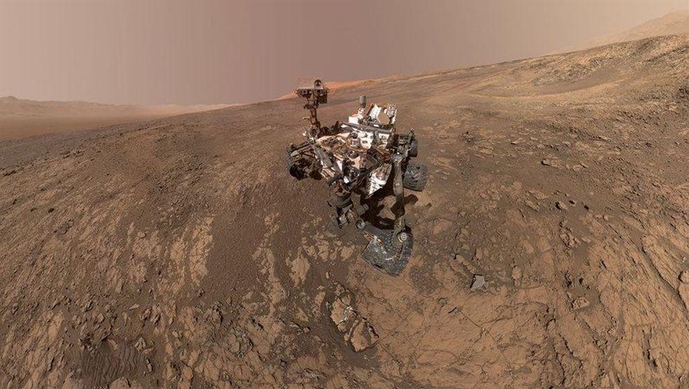 """""""Curiosity""""-Marsrover: Bohren nach Leben auf dem Roten Planeten"""