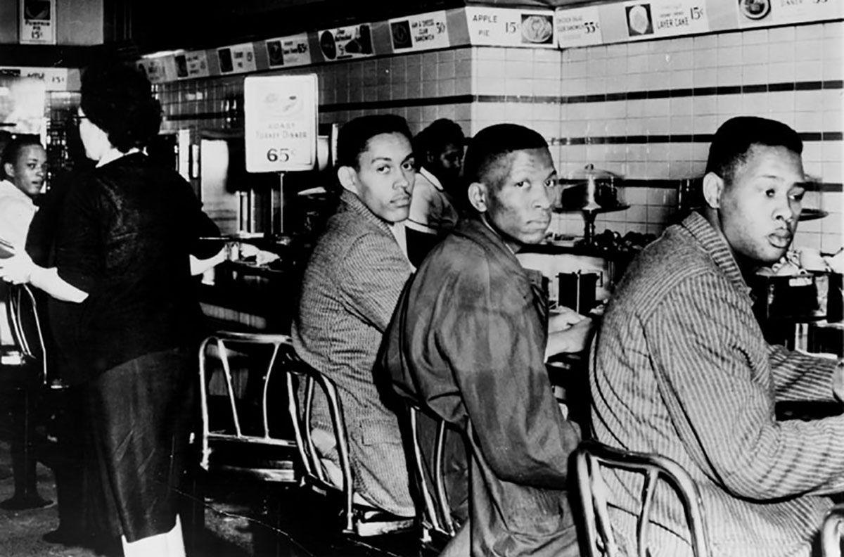 Lunch Counter Sit-in, Greensboro, North Carolina, 1960