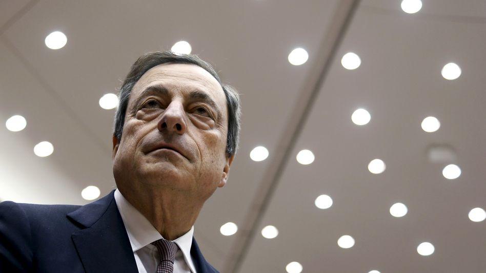 Draghi in Brüssel: Die Unsicherheit ist groß