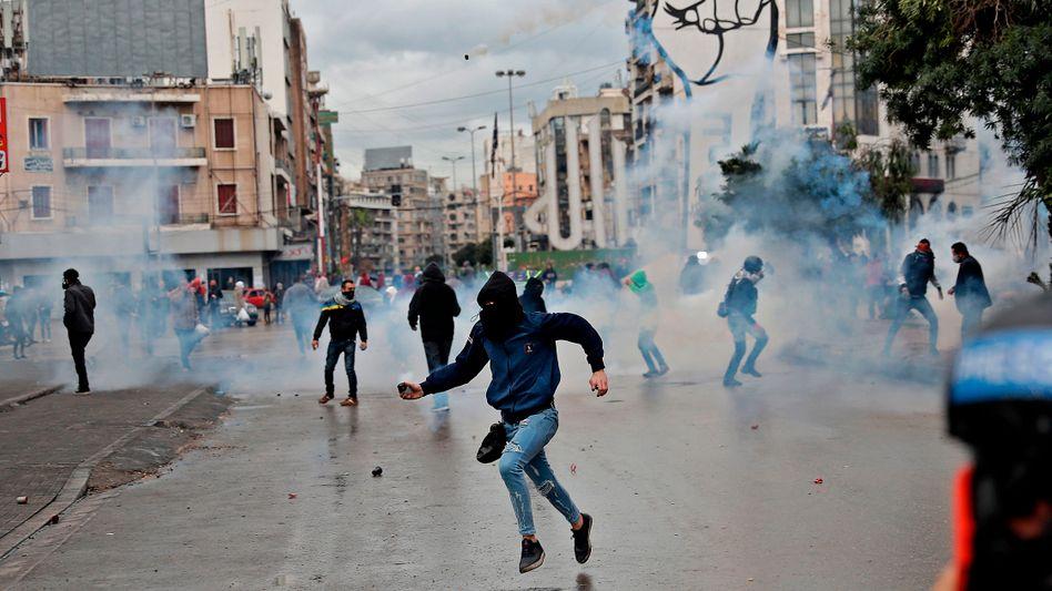 Der Libanon implodiert in Zeitlupe