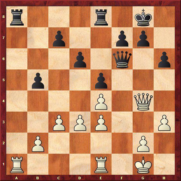 EINMALIGE VERWENDUNG Schach-WM 2013 / Analysen / Stellung 6.2