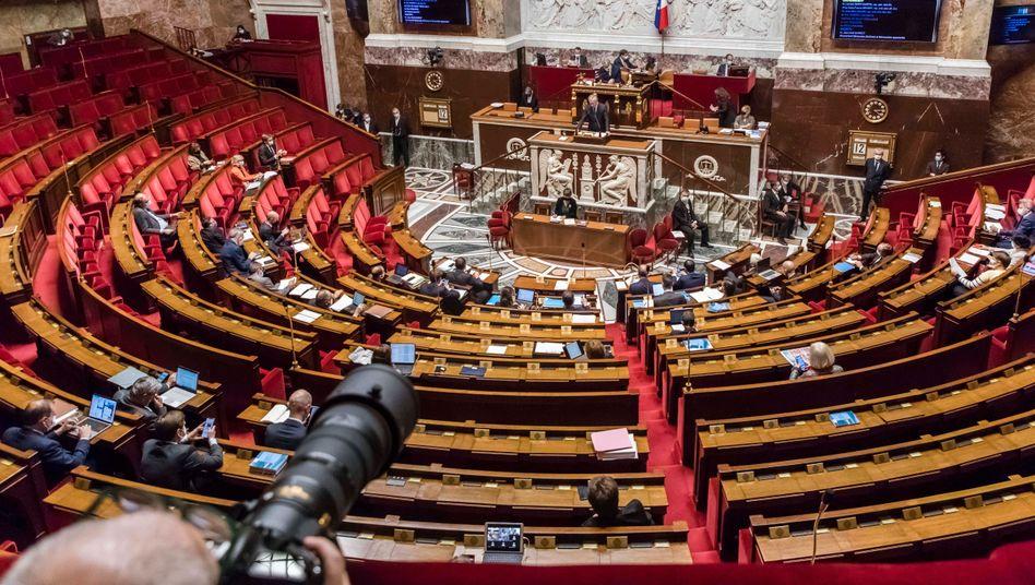 Französische Nationalversammlung in Paris (Archivbild)