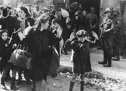 Deportation von Juden aus dem Warschauer Ghetto