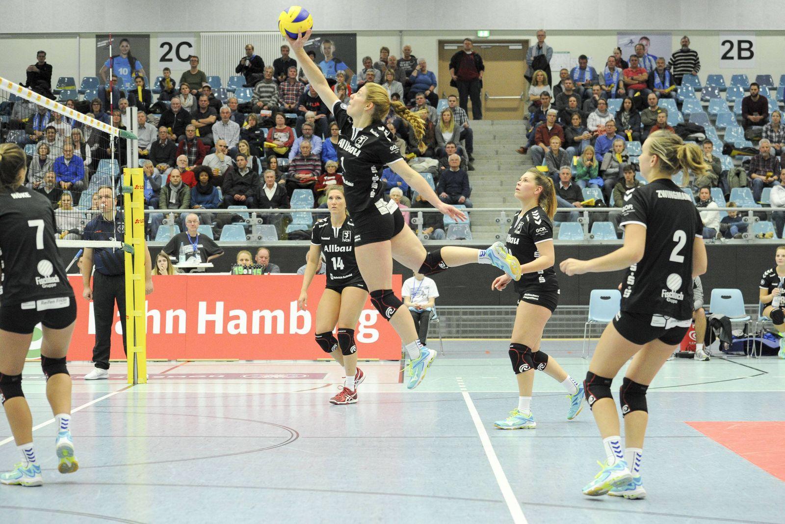 2 Volleyball Bundesliga Nord Volleyball Team Hamburg vs VC Allbau Essen Hamburg 18 11 17 Sandra