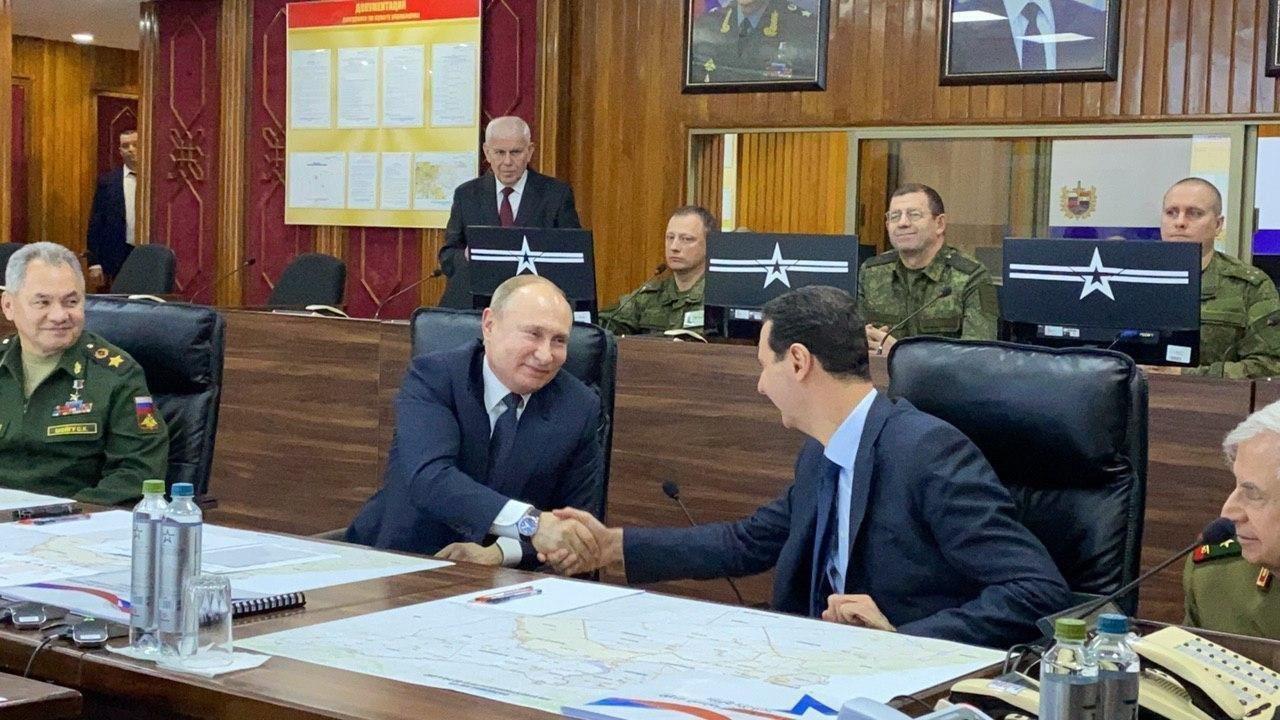 Wladimir Putin Baschar al-Assad
