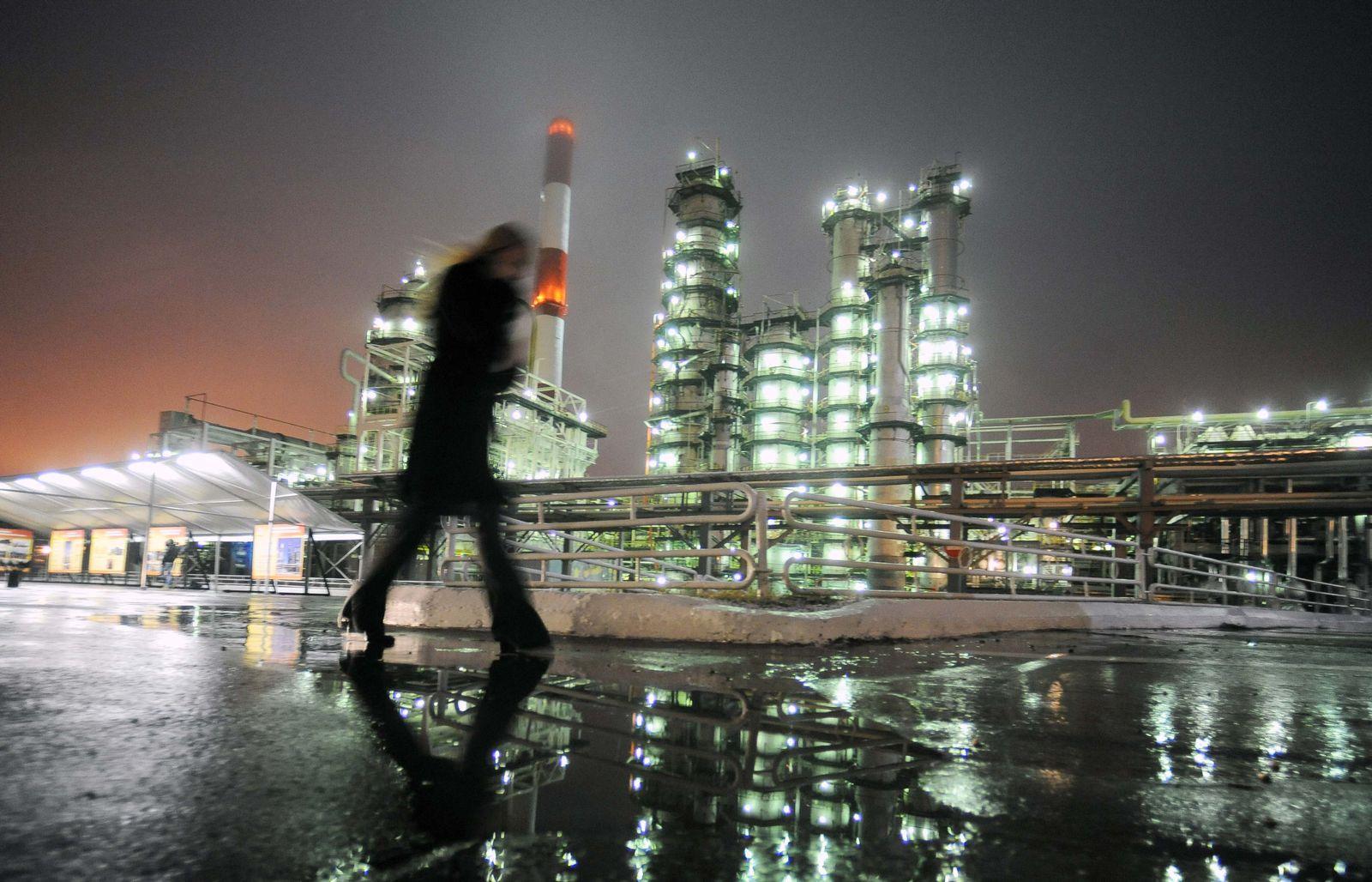 Russland/ Öl