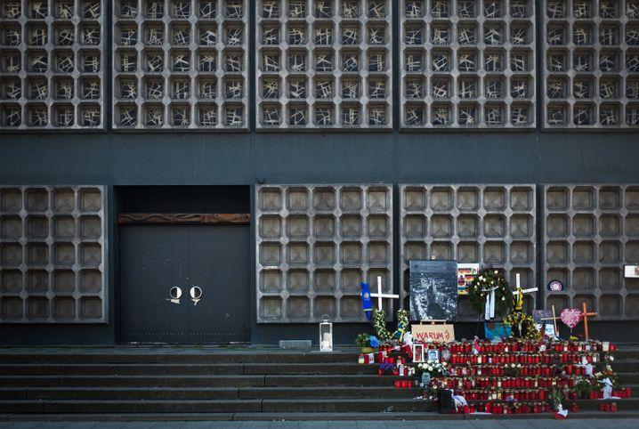 Gedenken am Breitscheidplatz