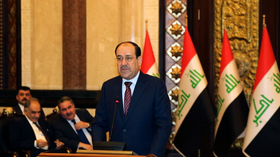 """Iraqi Prime Minister Nouri al-Maliki: """"Saddam was a tyrant and a dictator. He used poison gas against large parts of his population. I cannot and do not wish to be compared with that."""""""