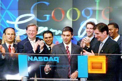 Google-Börsengang: Zwölf Seiten für das Geschäftsmodell