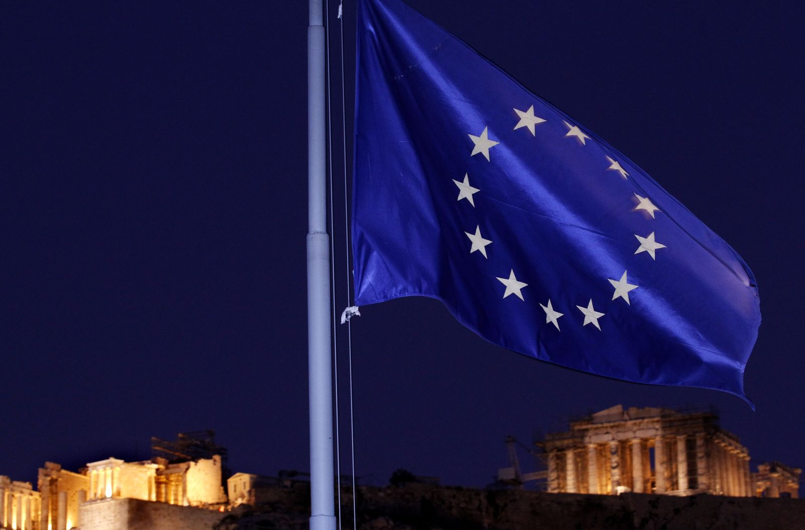 NICHT VERWENDEN euro flagge in griechenland symbol