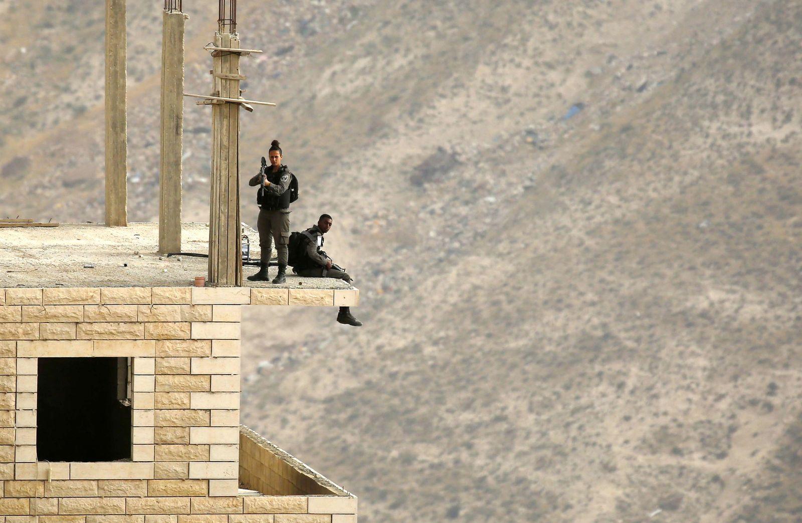 Zusammenstöße im Westjordanland