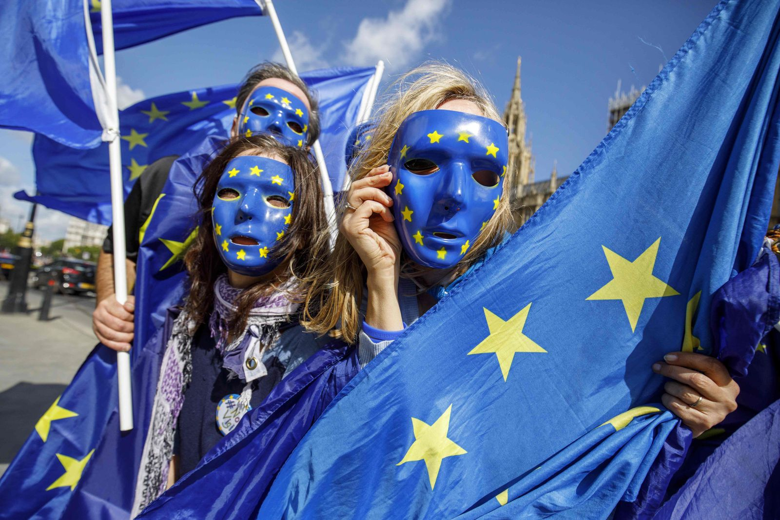 Brexit / Pro-europäische Demonstranten / London