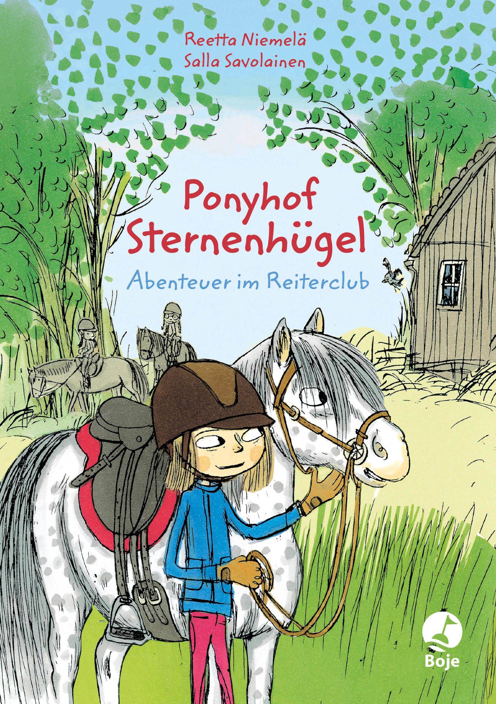 Buch/ Ponyhof Sternenhügel COVER