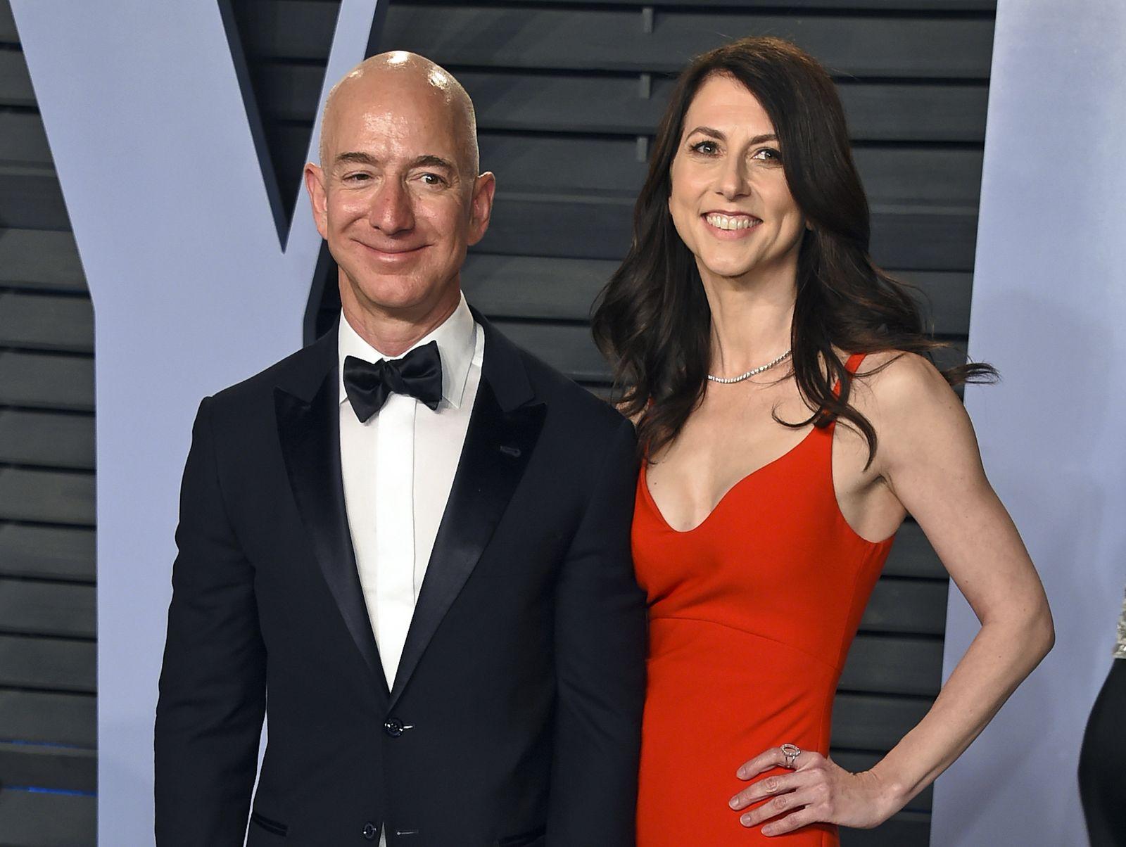 Jeff Bezos/MacKenzie Bezos