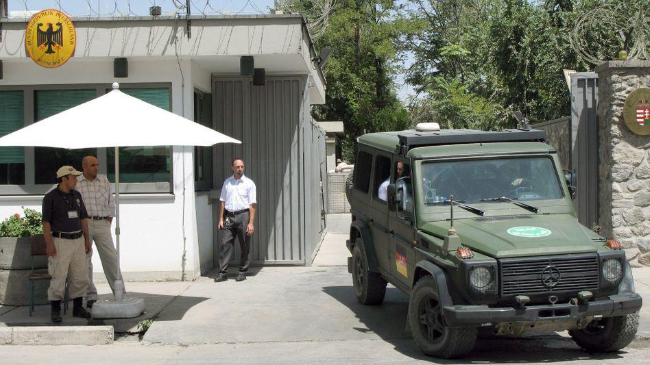 Deutsche Vertretung in Kabul: Stark gesichertes Areal