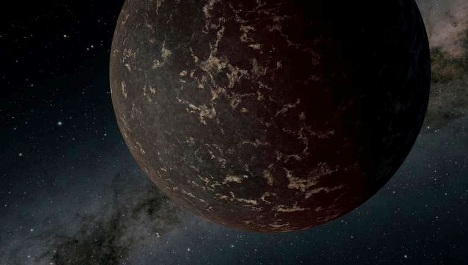 So könnte der Exoplanet LHS 3844b aussehen