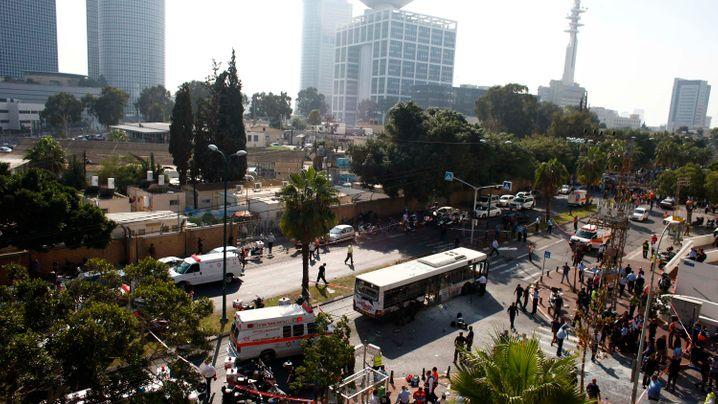 Anschlag in Tel Aviv: Bombe im Bus