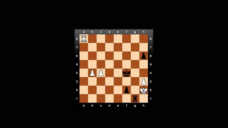Herausforderer Carlsen (Schwarz): Erfolg im Turmendspiel