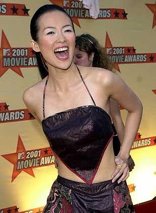 """Shooting-Star Zhang (2001 bei den MTV Movie Awards): """"Wenn du einen Film nach dem anderen drehst, musst du schon mehr bieten"""