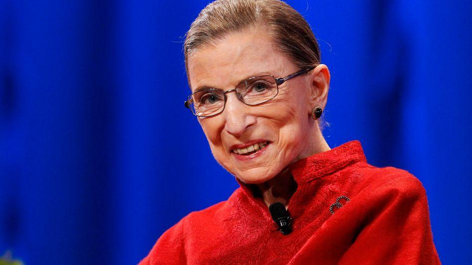 """Ruth Bader Ginsburg, auch als """"RBG"""" bekannt: Vorkämpferin für Frauenrechte"""