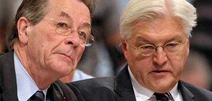SPD-Granden Müntefering, Steinmeier: Krisen-Appell noch vor der Sommerpause