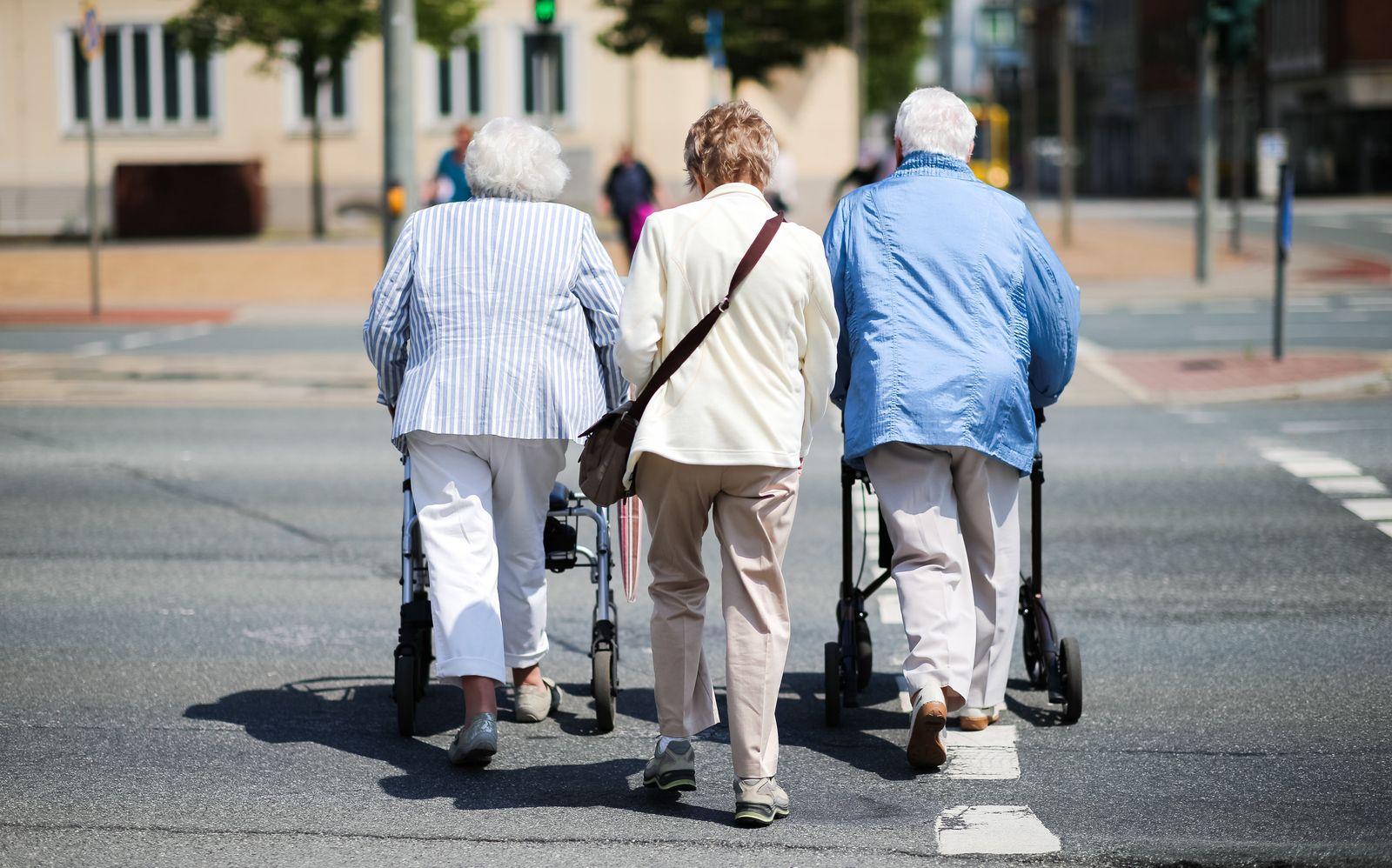 Senioren Rente Rentner