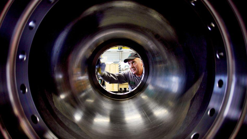 Deutscher Maschinenbau: Sorge vor Industriespionage wächst