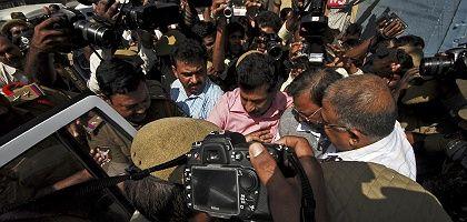 Raju vor Gefängnis in Hyderabad: Dubiose Buchhaltertricks