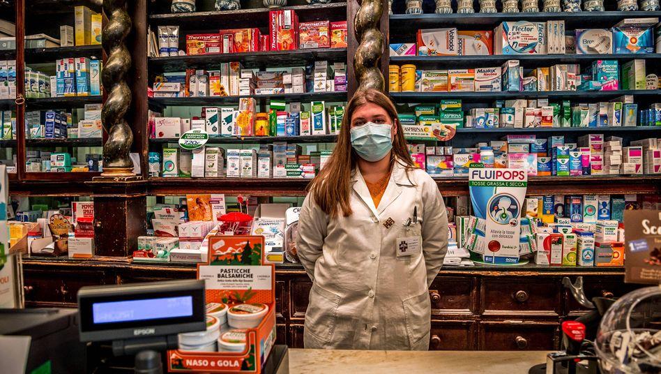 Kampf gegen das Coronavirus: Italiens rote Zone