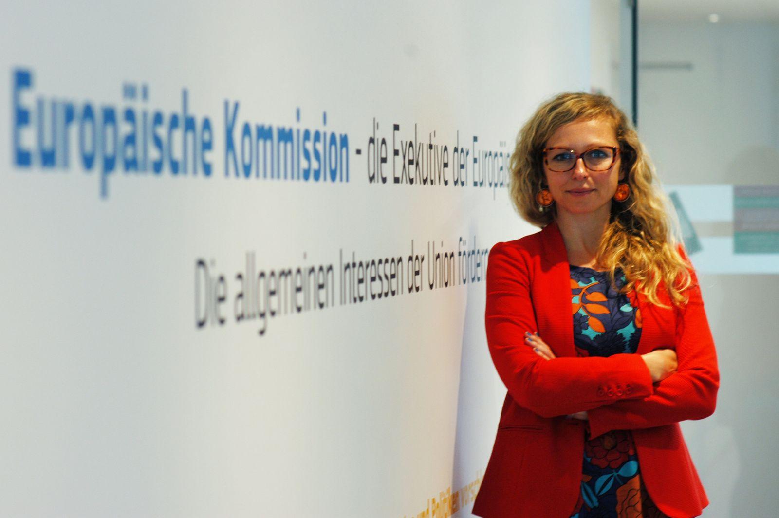 EINMALIGE VERWENDUNG Arbeiten in Brüssel: Wie wird man EU-Beamter?