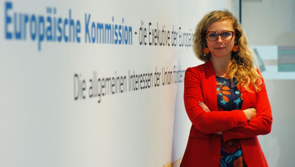 Karina Rempesz hat den Sprung nach Brüssel geschafft