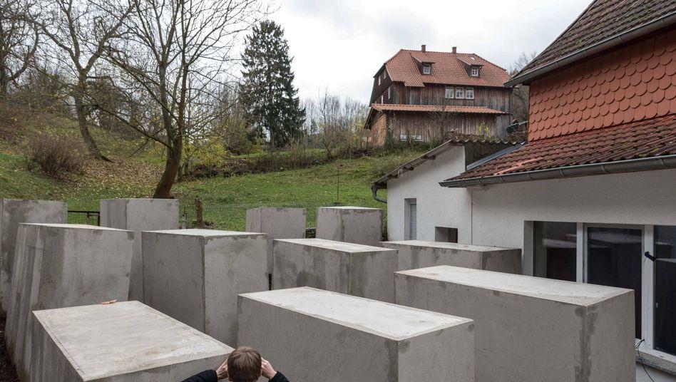 Holocaust-Mahnmal in Bornhagen