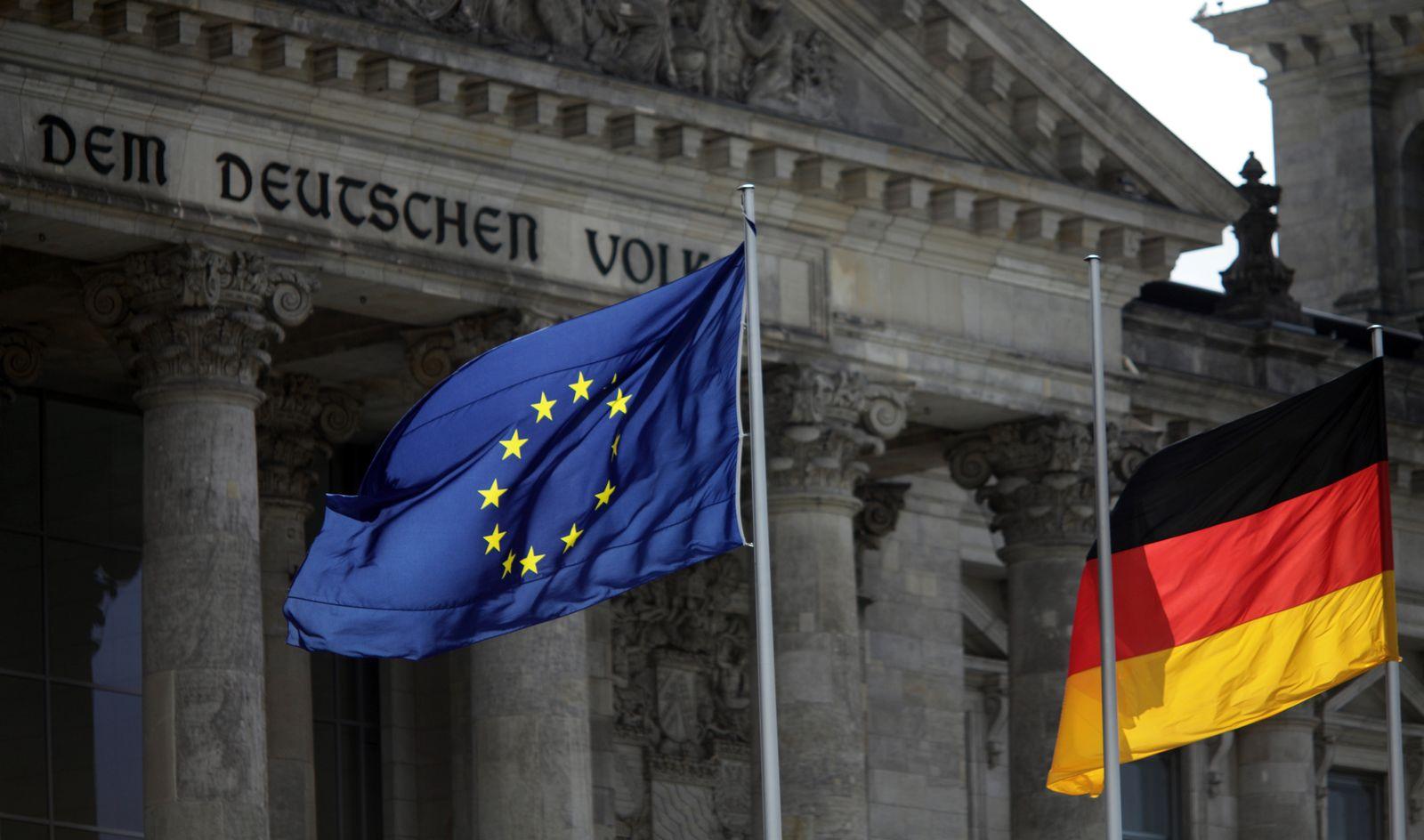 XXL Europaflagge/ Deutschlandfahne