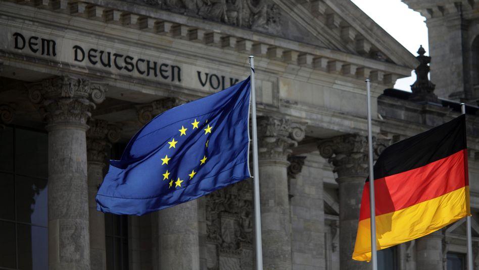 Deutsches Reichstagsgebäude: Im Strudel der Krise
