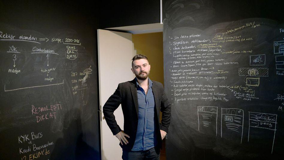 Medien-Unternehmer Engin Önder