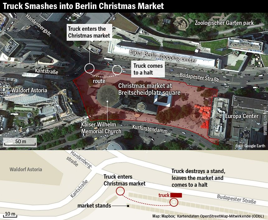 ENGLISH VERSION GRAFIK MAP Berlin Christmas Market Breitscheidplatz