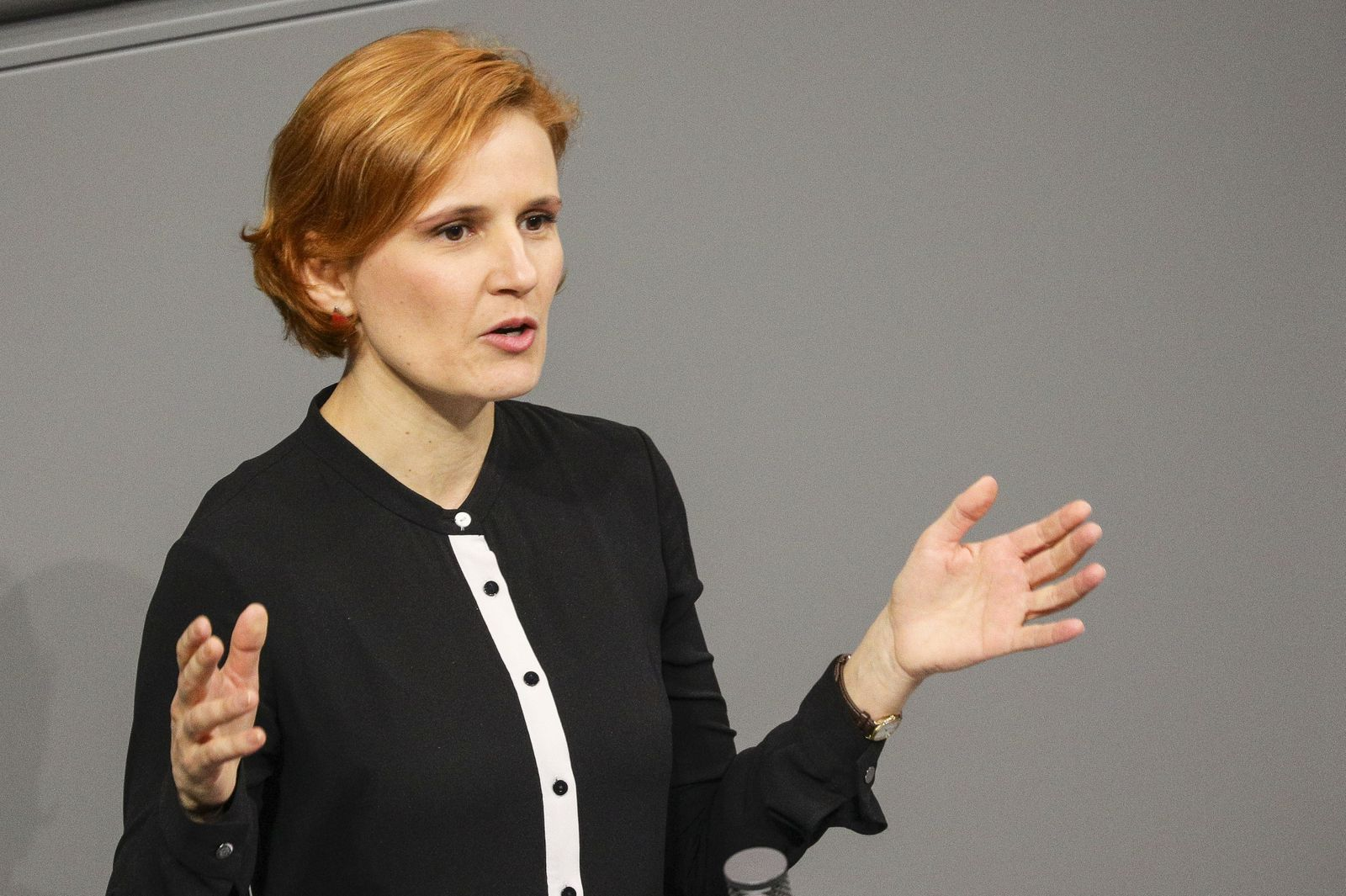 Bundestag session - German 'The Left' party under criticism for recent remarks, Berlin, Germany - 06 Mar 2020