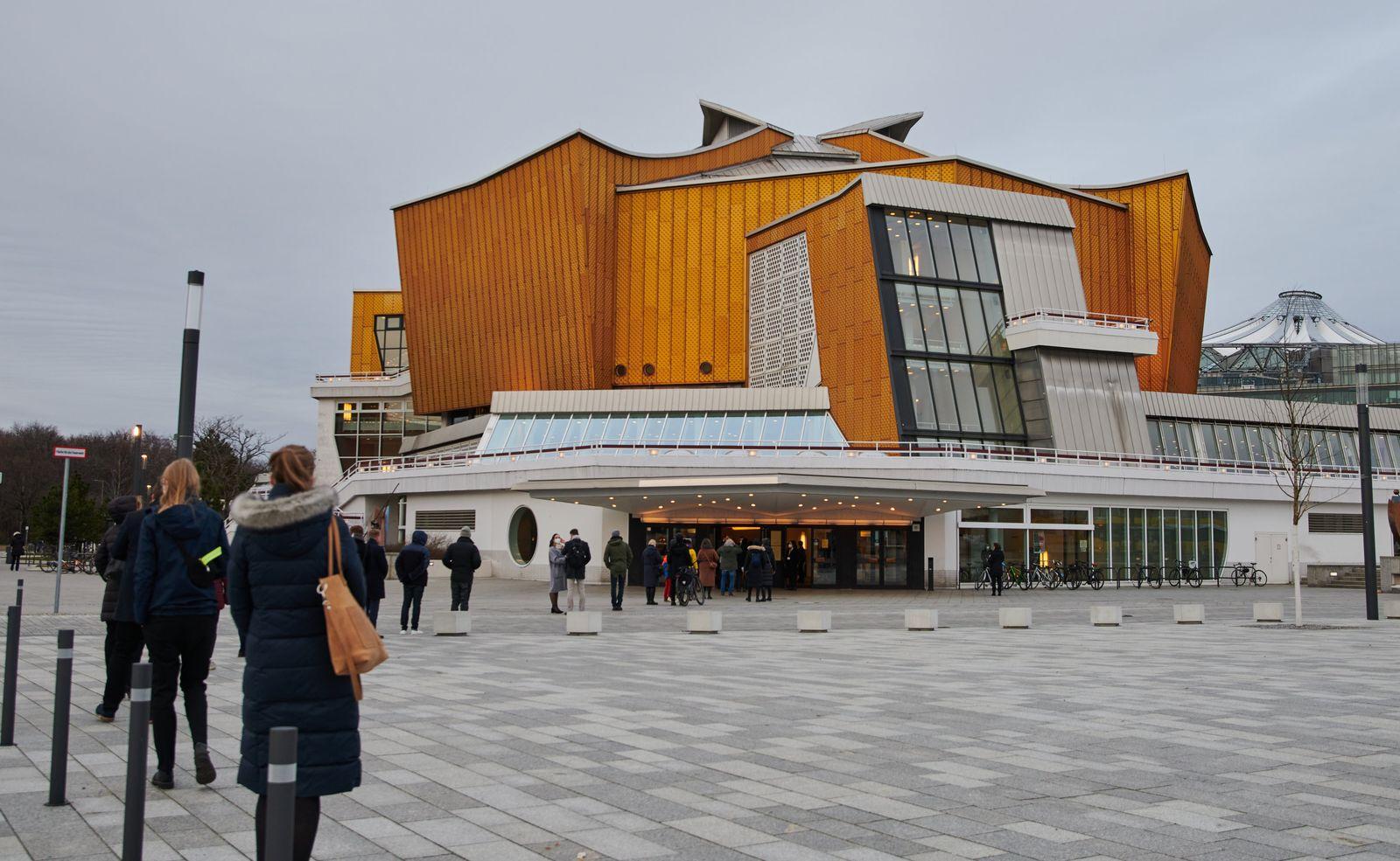 Testkonzert in Berliner Philharmonie als Pilotprojekt