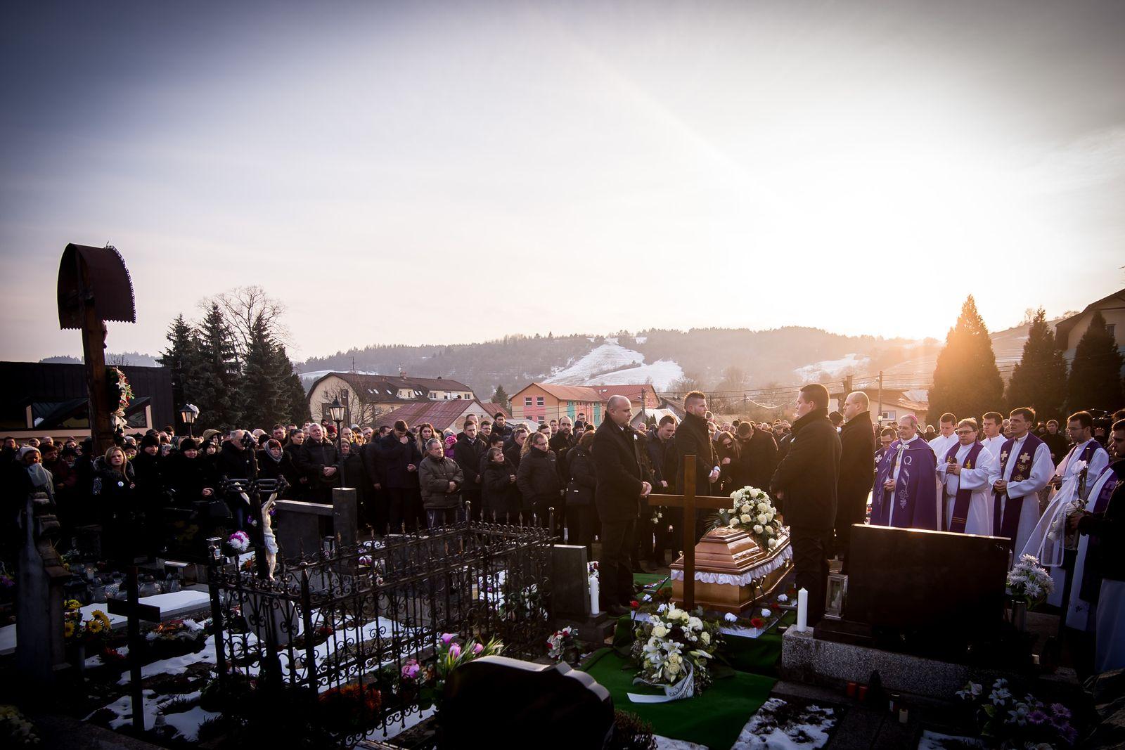 Jan Kuciak / Beerdigung