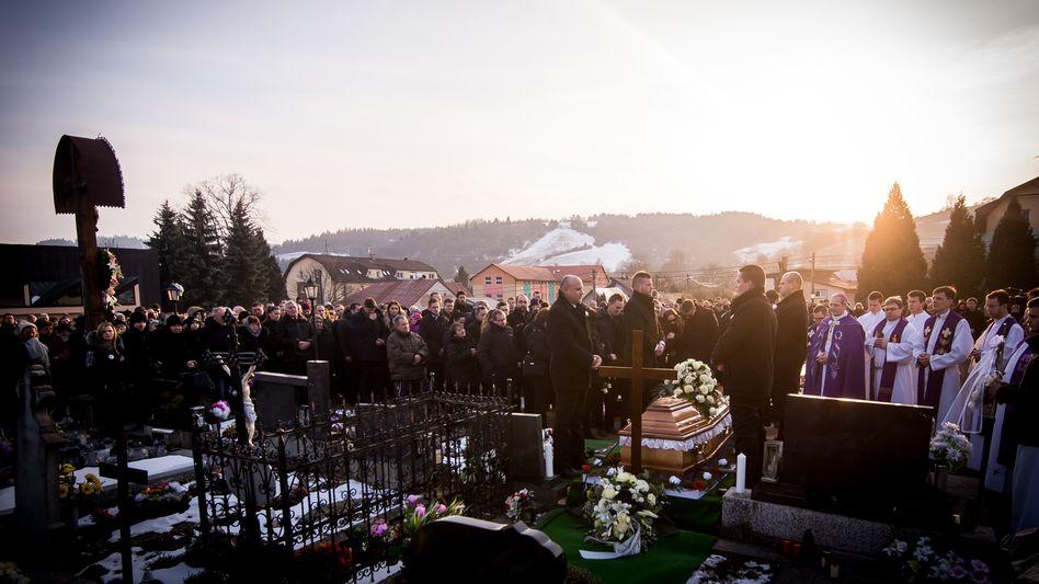 Beerdigung von Kuciak in der Slowakei