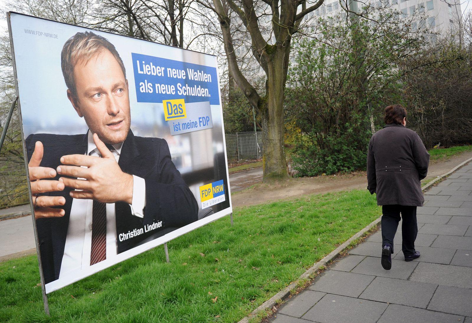 Wahlkampf in NRW / Lindner
