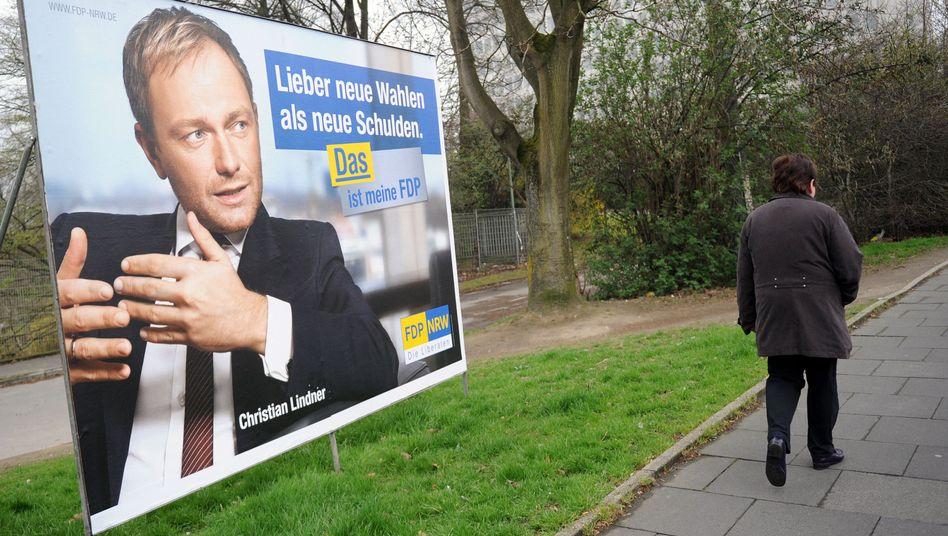 """Lindner-Plakat: """"Das ist meine FDP"""""""