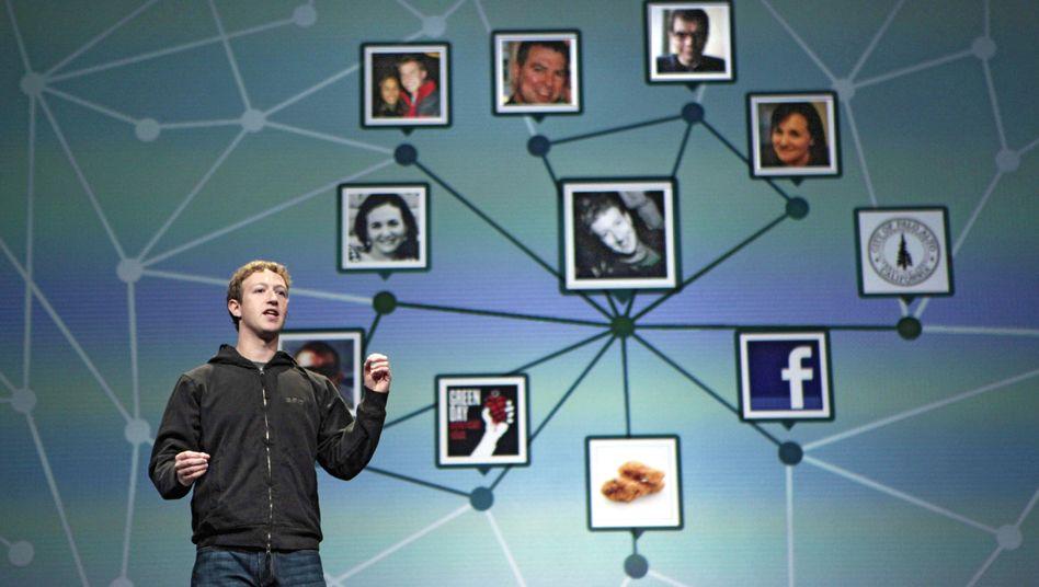 Facebook-Chef Mark Zuckerberg: Wer mit wem - und warum auch nicht?