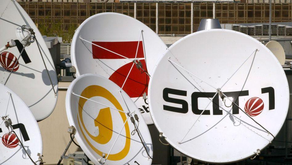 Satellitenschüsseln (in Berlin)