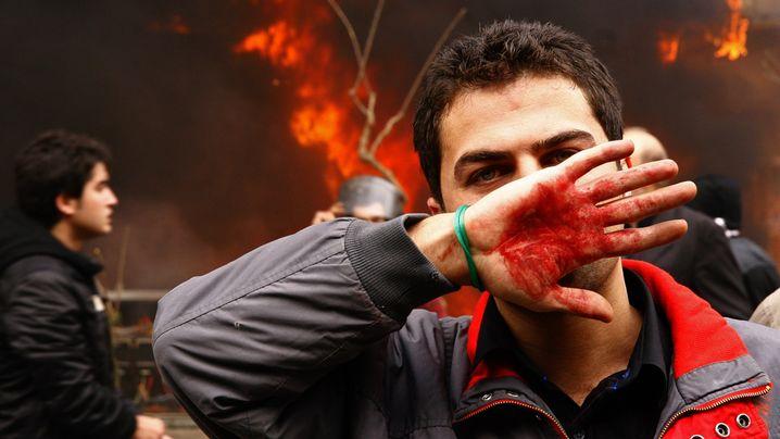 Iran im Dezember 2009: Brutale Gewalt gegen Demonstranten