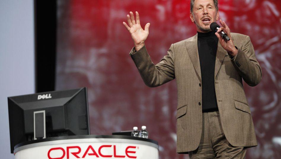 Oracle-Chef Larry Ellison: Sieg über SAP