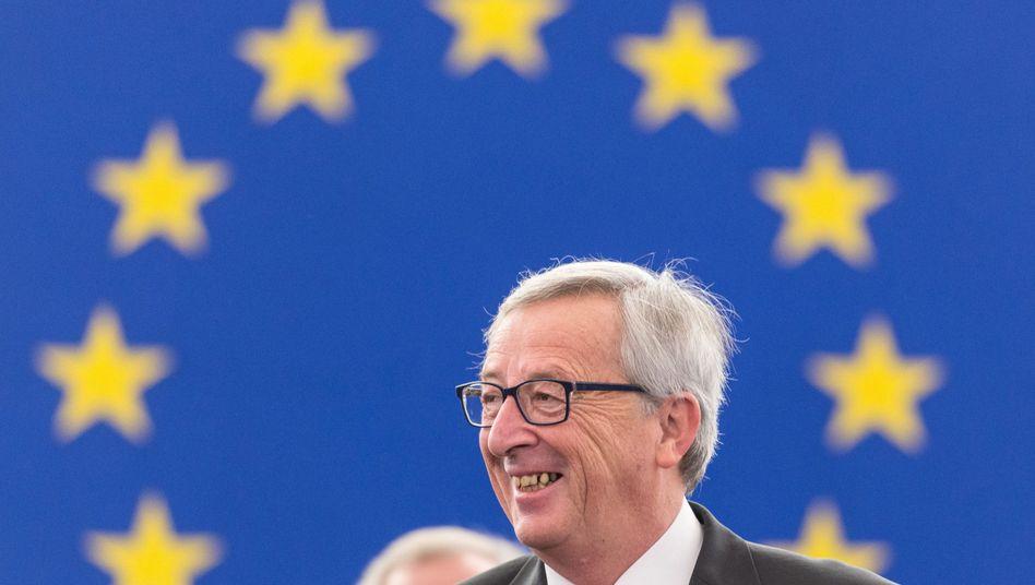 Kommissionschef Juncker: Abstimmung überstanden