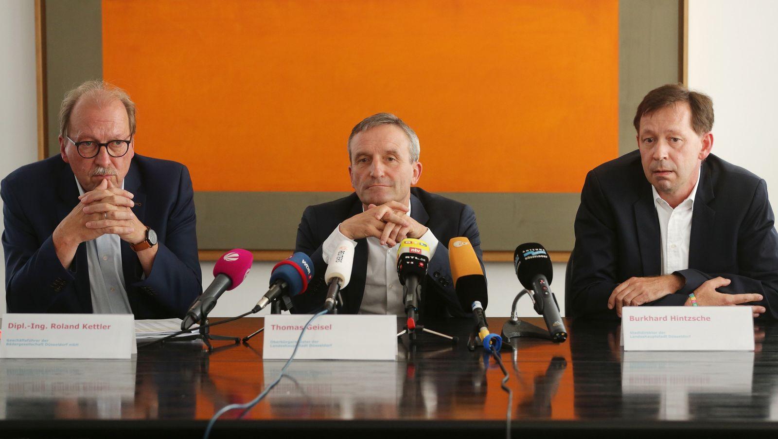 Pressekonferenz zu Rheinbad