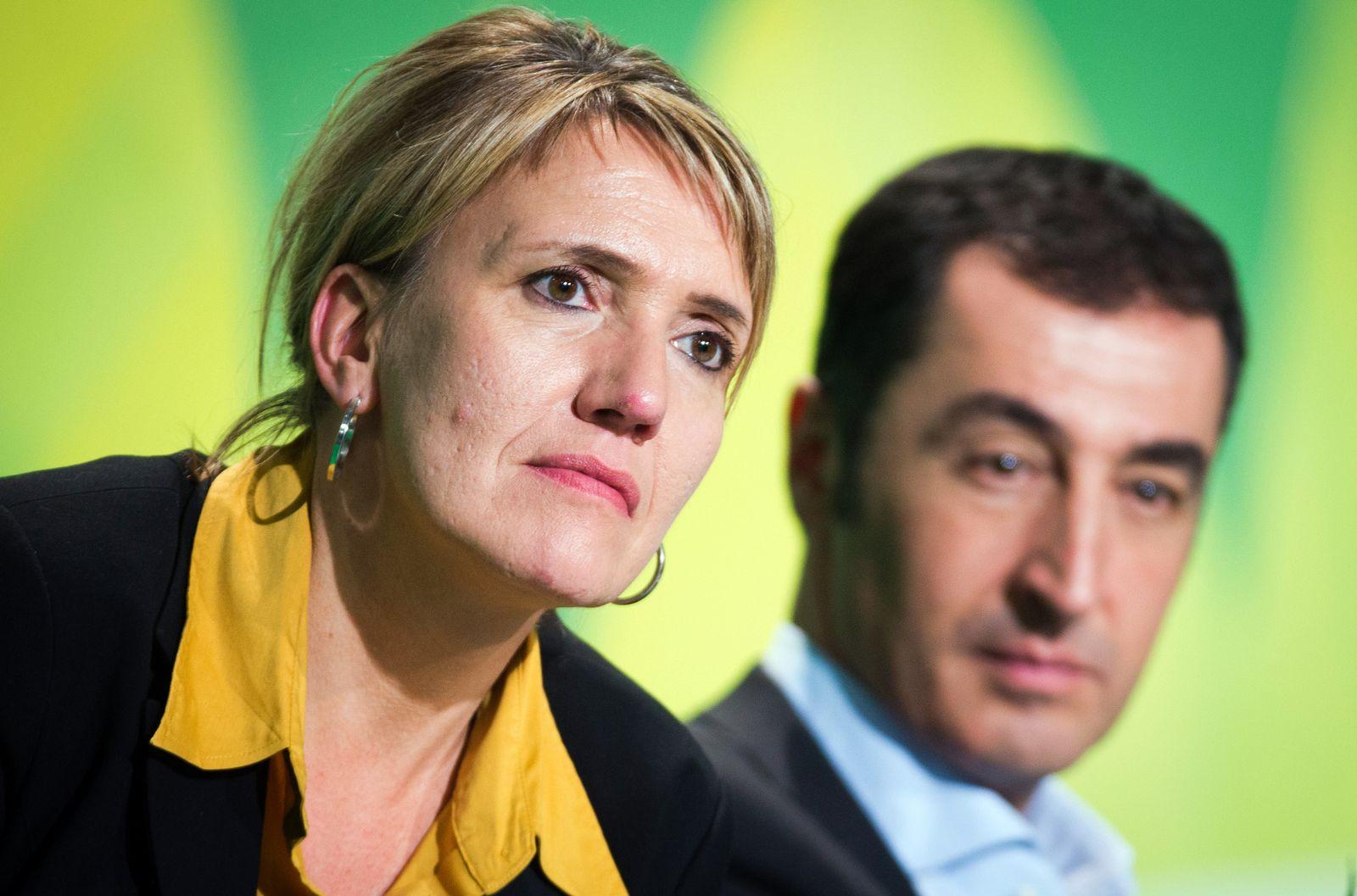 Bundesparteitag Grüne/ Özdemir/ Peter